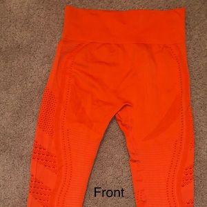 BRAND NEW Orange Athletic Leggings